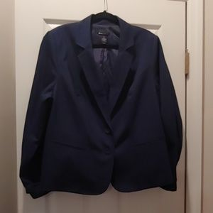 Blue Lane Bryant Blazer